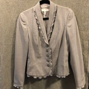 Gray Escada Skirt Suit